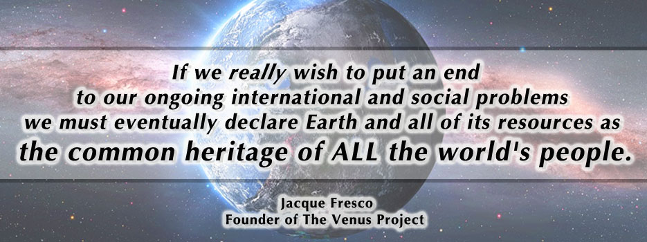 Creating The Venus Project, The Zeitgeist Movement Header