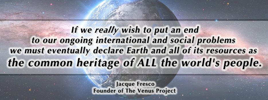 Creating The Venus Project, The Zeitgeist Movement Header