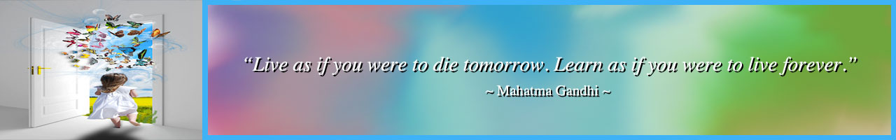 Human Needs Quote, Mahatma Gandhi Quote, Live as if you were to die tomorrow quote