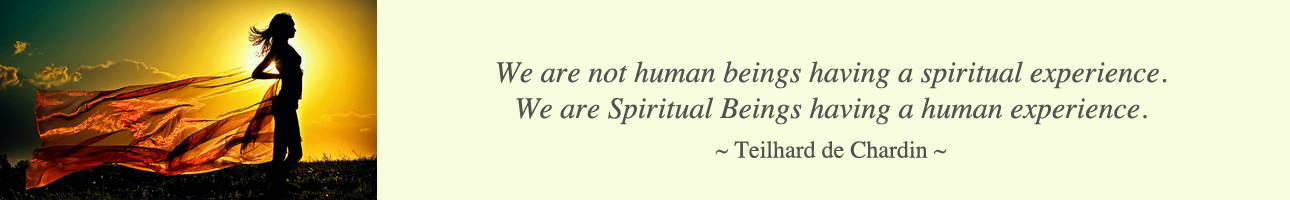 one community, Chardin quote, spiritual beings, Teilhard quote