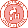 Heating hot water, hot water heating