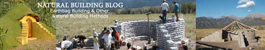 Natural Building Blog, Earth Bag Building, One Community partner
