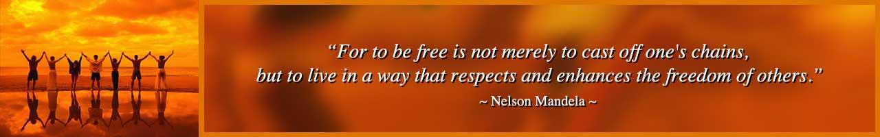 Human Needs Quote, Nelson Mandela Quote