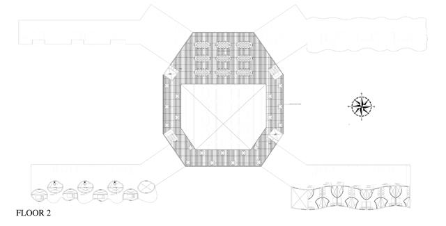 Cob Village floor plan, cob village layout, cob village maker spaces, One Community cob village