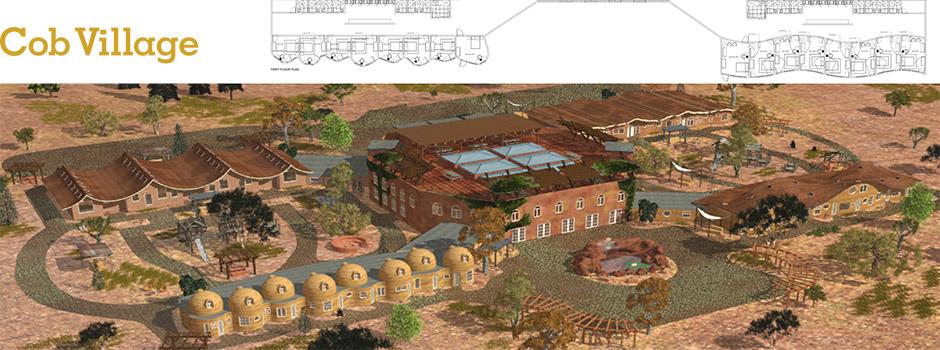Cob Village Header, Cob Village, Cob Living, Cob Construction, Cob Architecture, Cob Housing, Cob Hotel, Cob Dwelling, building with cob