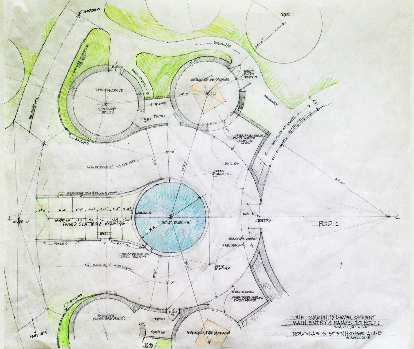 Basic Dome Home S Interior Plans: Open Source Earthbag Village