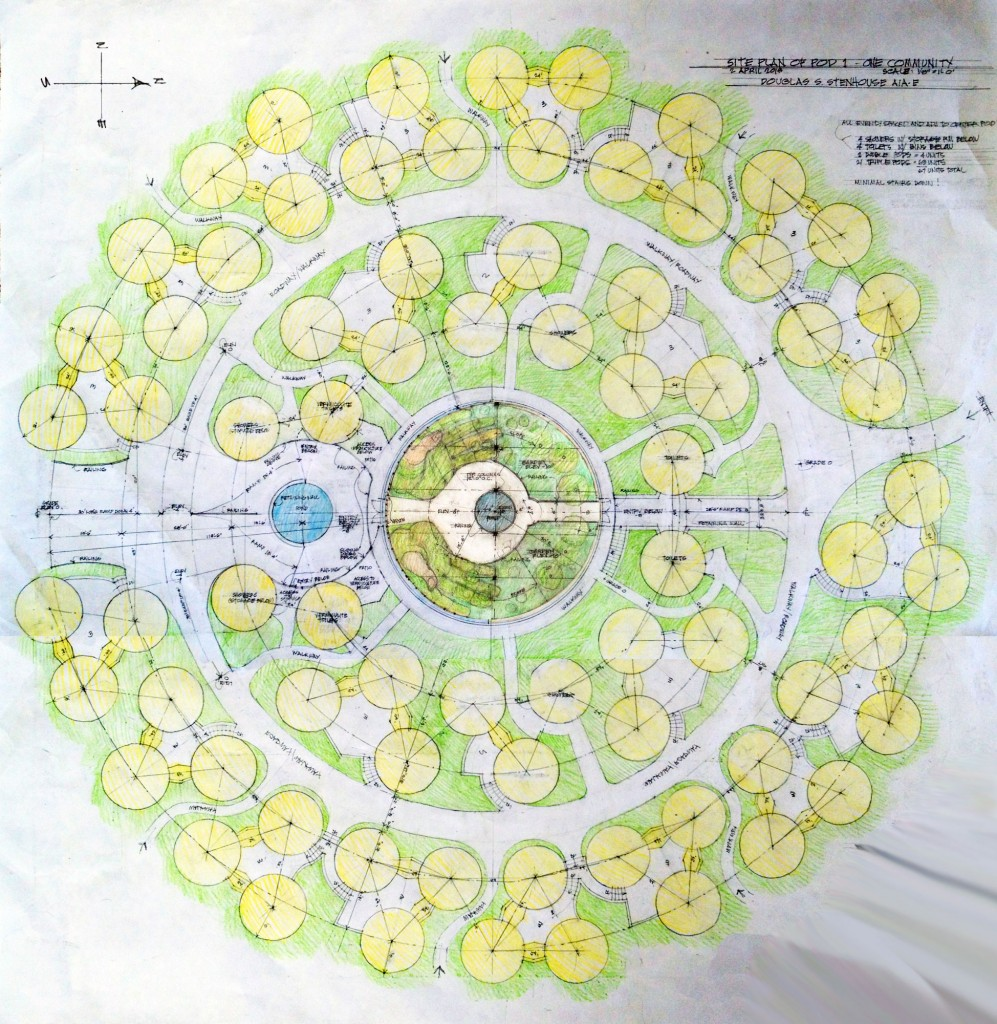 Earthbag Homes Plans Building With Earthbags Open Source Earthbag Village Layout