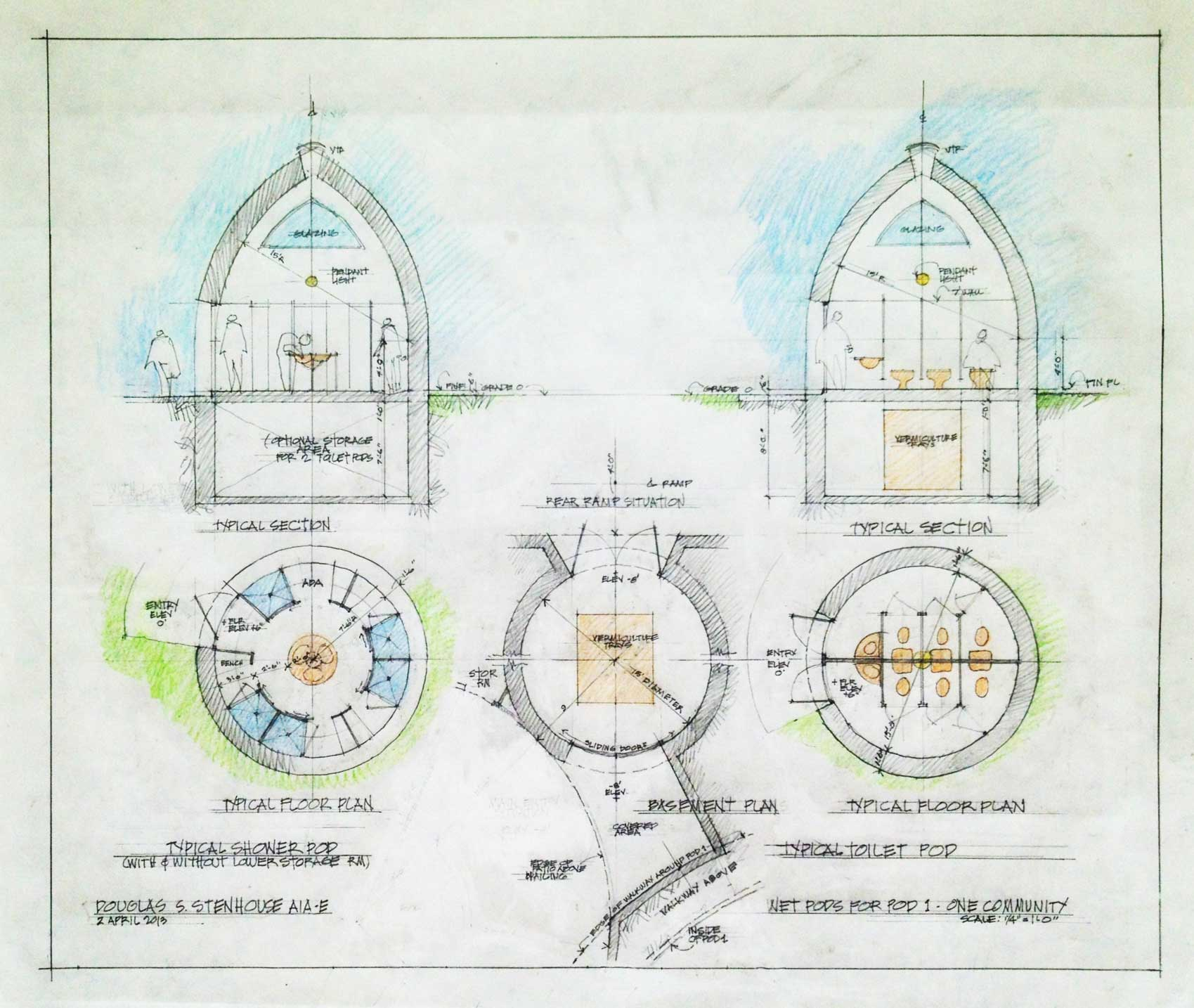 Dome Home Design Ideas: Plans: Earthbag Building And Construction Plans Page