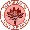 Sketchup Trees, Sketchup plants, how to use sketchup