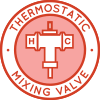Thermostatic Mixing Valve Icon, Thermostatic Valve Icon