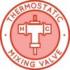 Thermostatic Mixing Valve Icon, Thermostatic Valve Icon