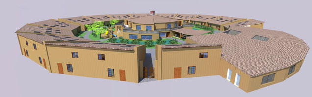 Straw Bale Village Render 640