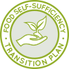 First-year food icon, food transition plan icon, grow food, DIY food, food self-sufficiency, eco-food, organic food, vegan food, vegetarian food, omnivore food, cook meals, menus, nutritious food, rice, potatoes, yams, sweet potatoes, pasta, gardening, planting, One Community