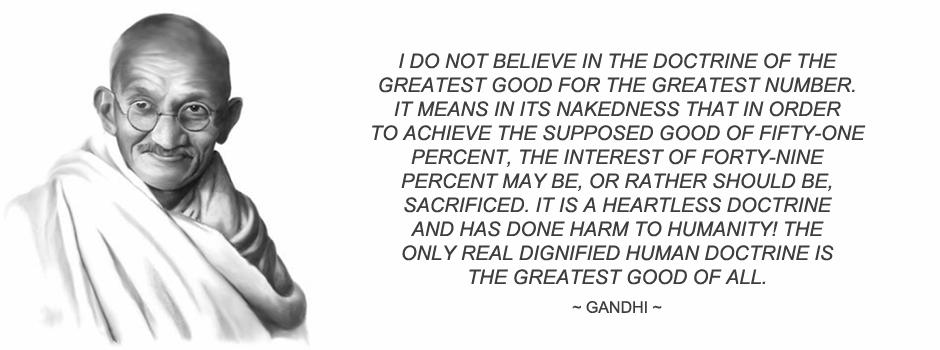 Consensus Gandhi Header