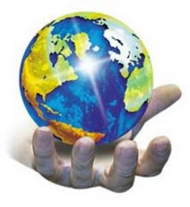 community planet, its our planet, the future is in our hands, one community