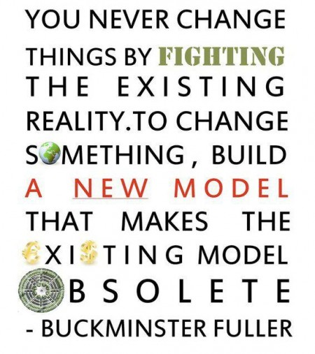 fuller quote, build a new model