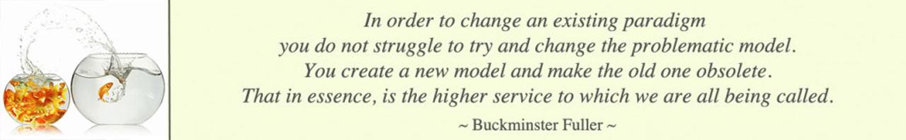Buckminster Fuller Quote