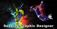 Seeking Graphic Designer