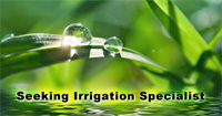 Irrigation Specialist Job