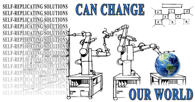 Solutions that create solutions, world change, solution-creating models