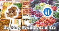 food specialist positions, bulk ordering , world change