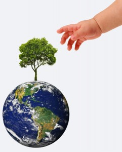 creating a green world, sustainable green