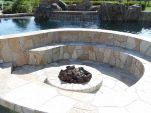 indoor fire pit, eco pool, green jacuzzi ideas, green living