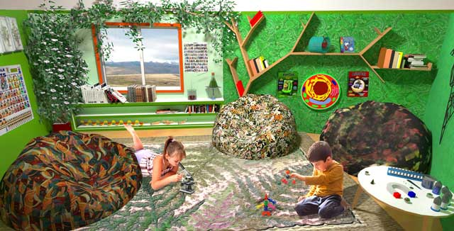 One Community, The Ultimate Classroom, Green Room Science, Final Render