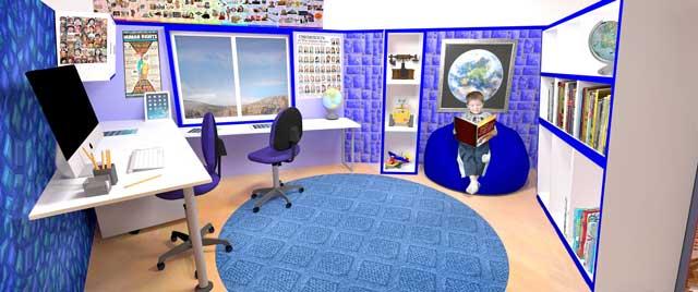 One Community, The Ultimate Classroom, Indigo Room Social Sciences, Final Render