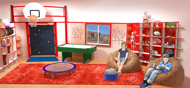 One Community, The Ultimate Classroom, Red Room Health, Final Render