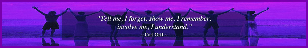 Carl Orff quote, involve me, increasing understanding