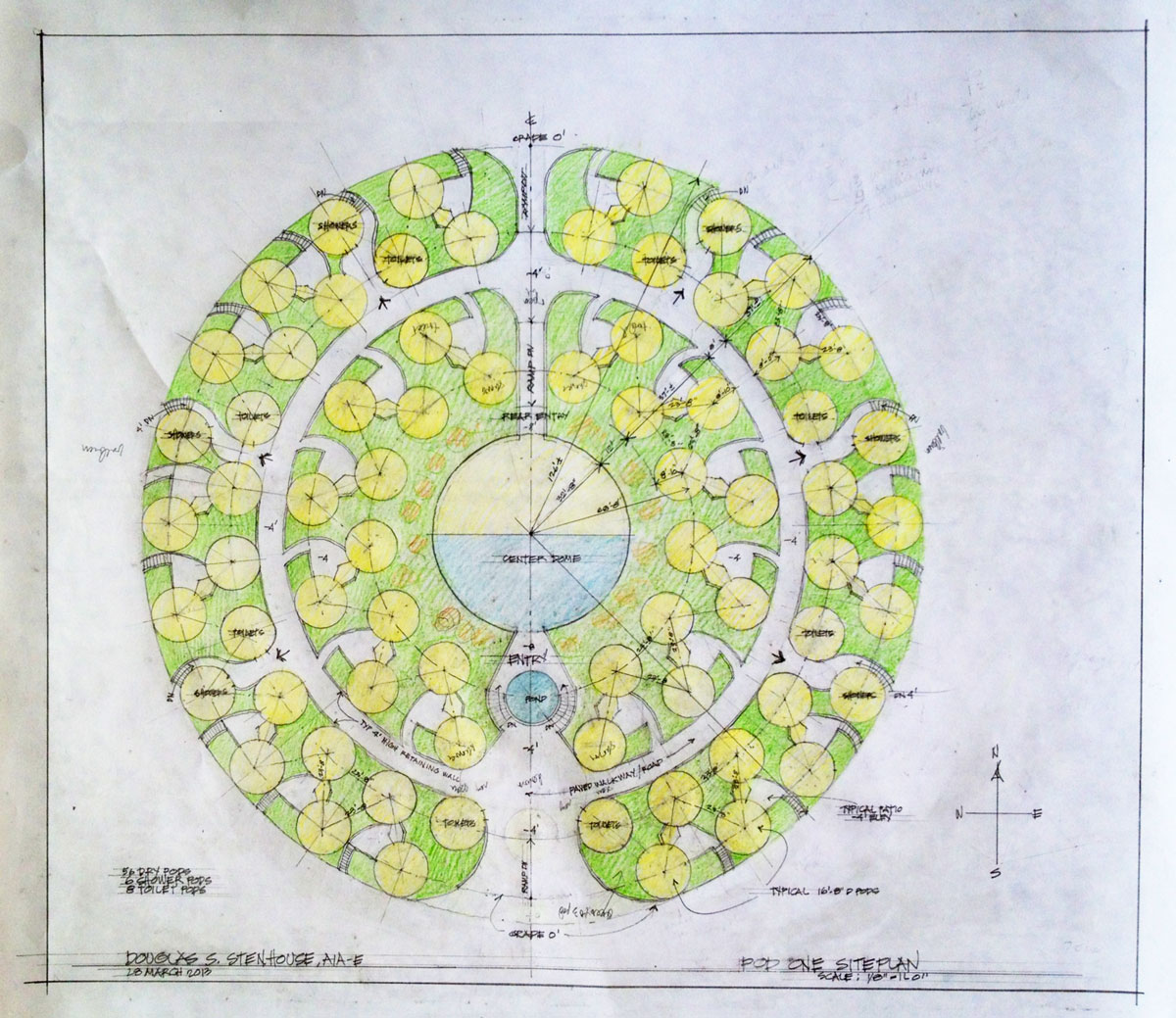 Sustainable house designs earthbag building a complete for Sustainable housing plans