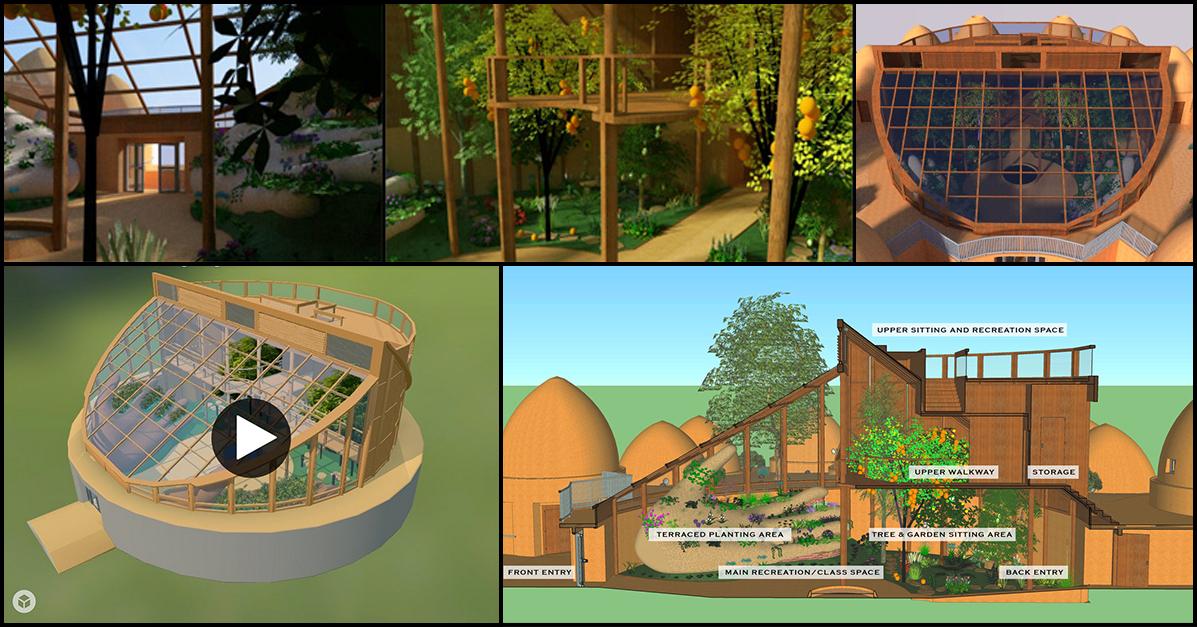 One Community Tropical Atrium, Open Source Tropical Atrium