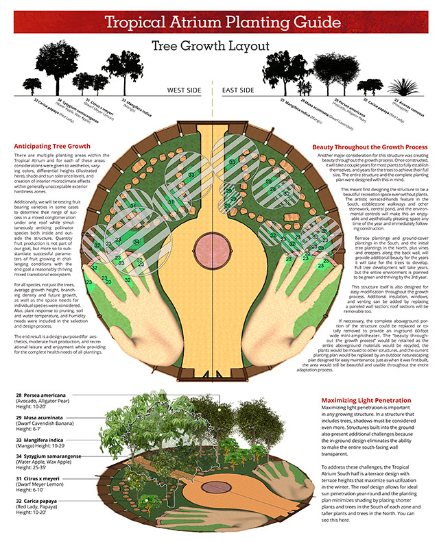 One Community Earthbag Village Tropical Atrium Tree Sunlight Guide, 640