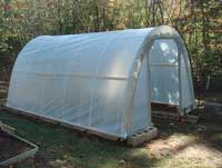Hoop House, sustainable food, grow your own food