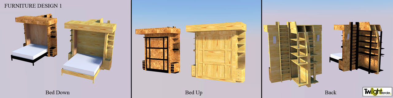 Furniture diy open source dome home furniture plans cost for Village furniture and design
