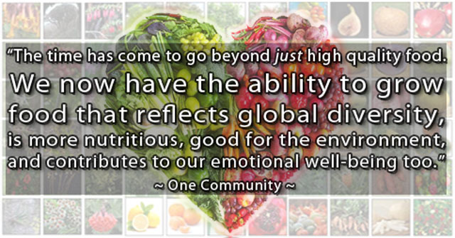food diversity image and quote, food diversity facebook