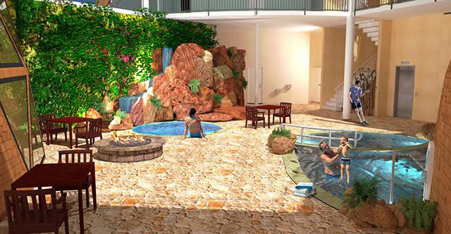 Duplicable City Center natural pool and spa final render