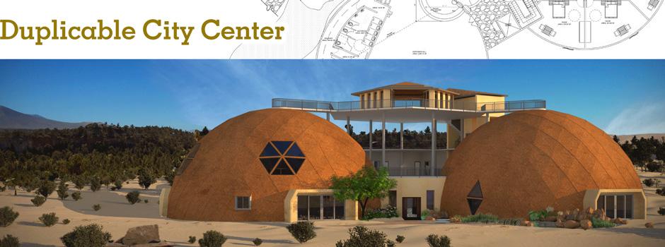 Duplicable City Center, One Community, Eco-living, Green Living, Eco-Tourism