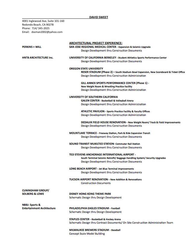 David-Sweet-Resume