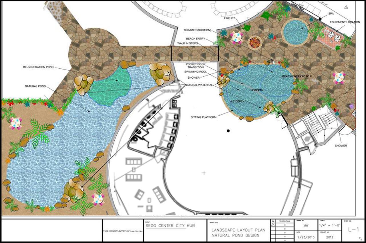 Natural Pool, Eco Hot Tub, One Community