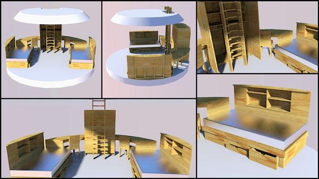 children's earthdome home furniture