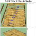 Murphy Bed ~ Bed B - click to enlarge