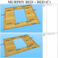 Murphy Bed ~ Bed C - click to enlarge