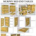 Murphy Bed End Tables