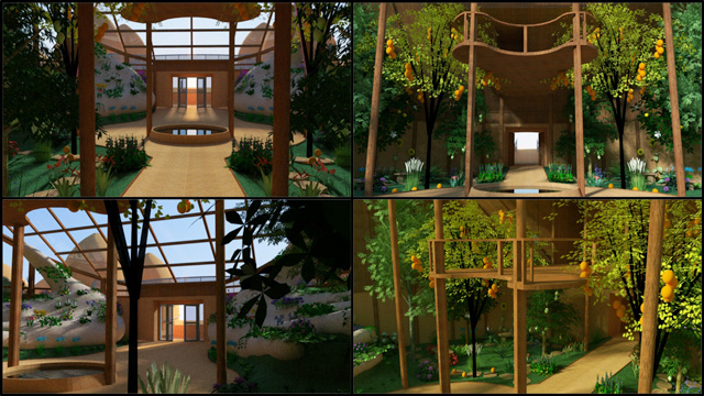 Open Source One Community Tropical Atrium Portal