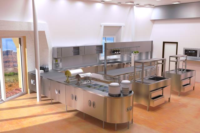 Efficient Restaurant Kitchen Layout