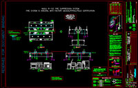 Fire Suppression System CAD Export - click to enlarge