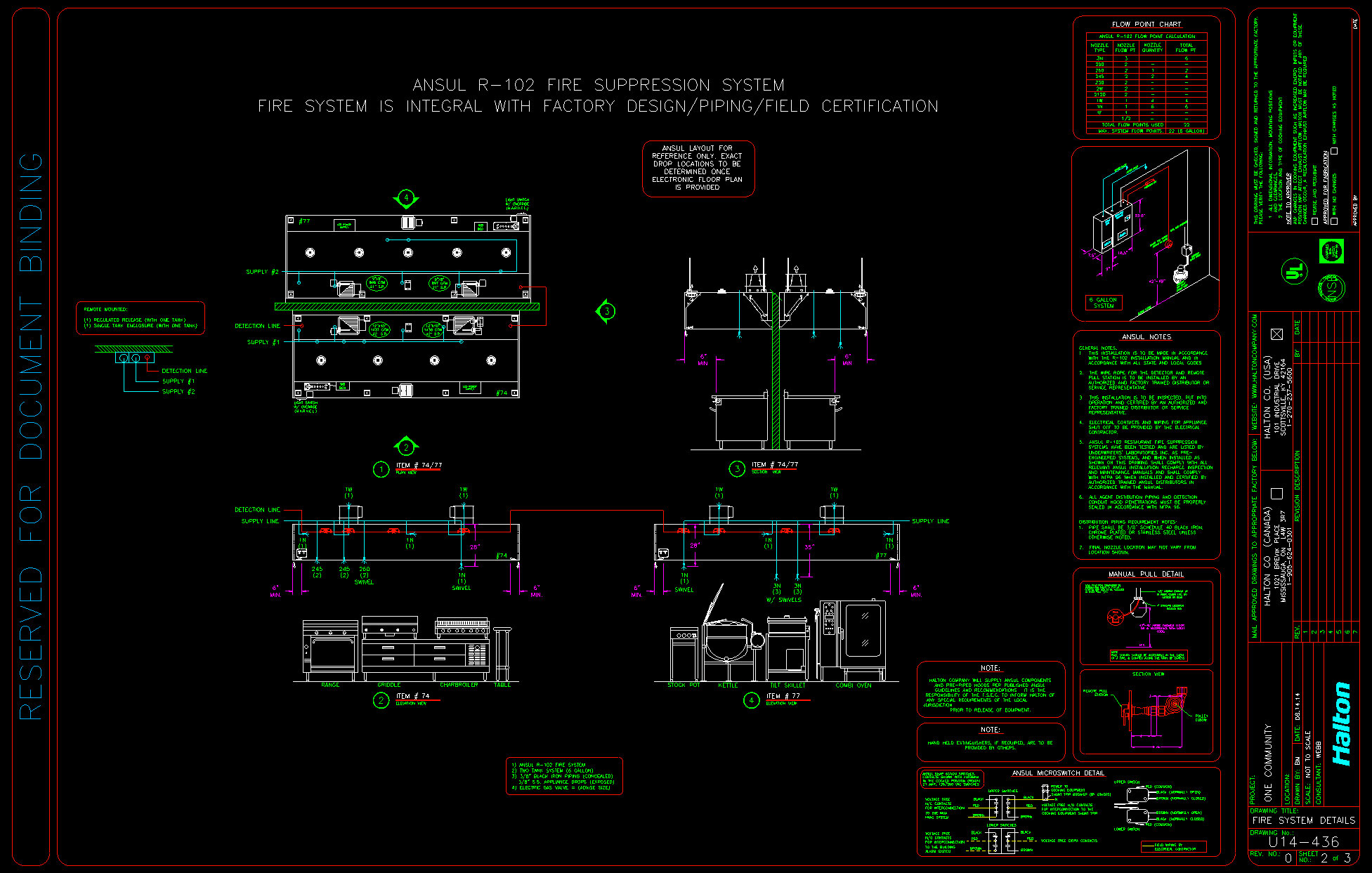 Fire Suppression System Cad Export on Line Design Layout