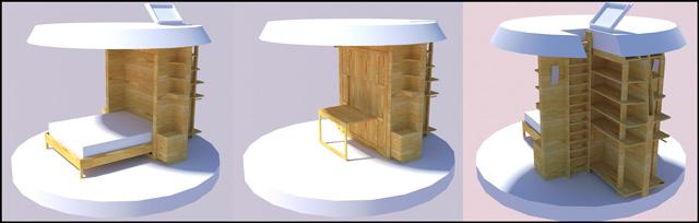 Murphy Bed Dome Furniture, Custom Furniture, Dome-home Furniture, One Community Furniture